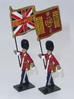 WB48018  The Queen's Diamond Jubilee Set, The Guards Colours, Irish Guards